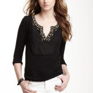 Lucky Brand Women's Genoa Embellished Top